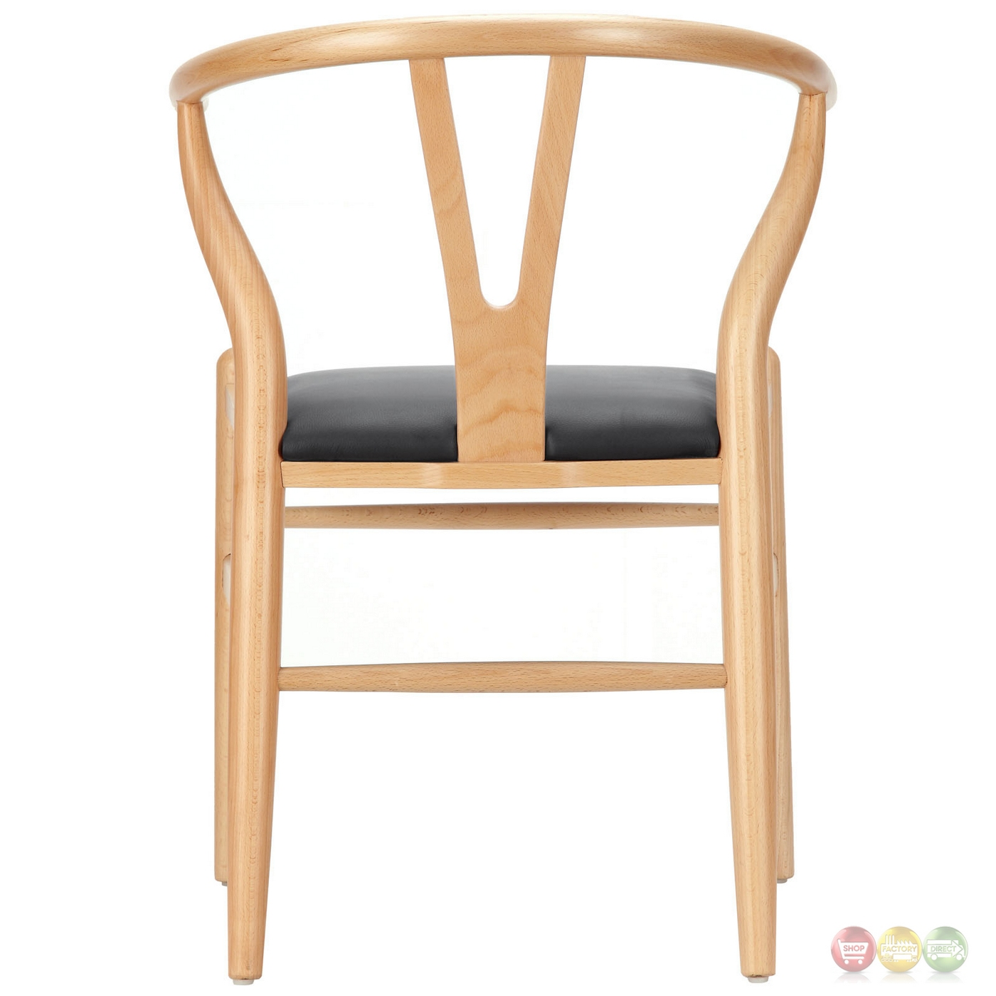 Amish Classic Modern Wooden Vinyl Upholstered Dining Armchair Black. Full resolution  img, nominally Width 1400 Height 1400 pixels, img with #A26729.