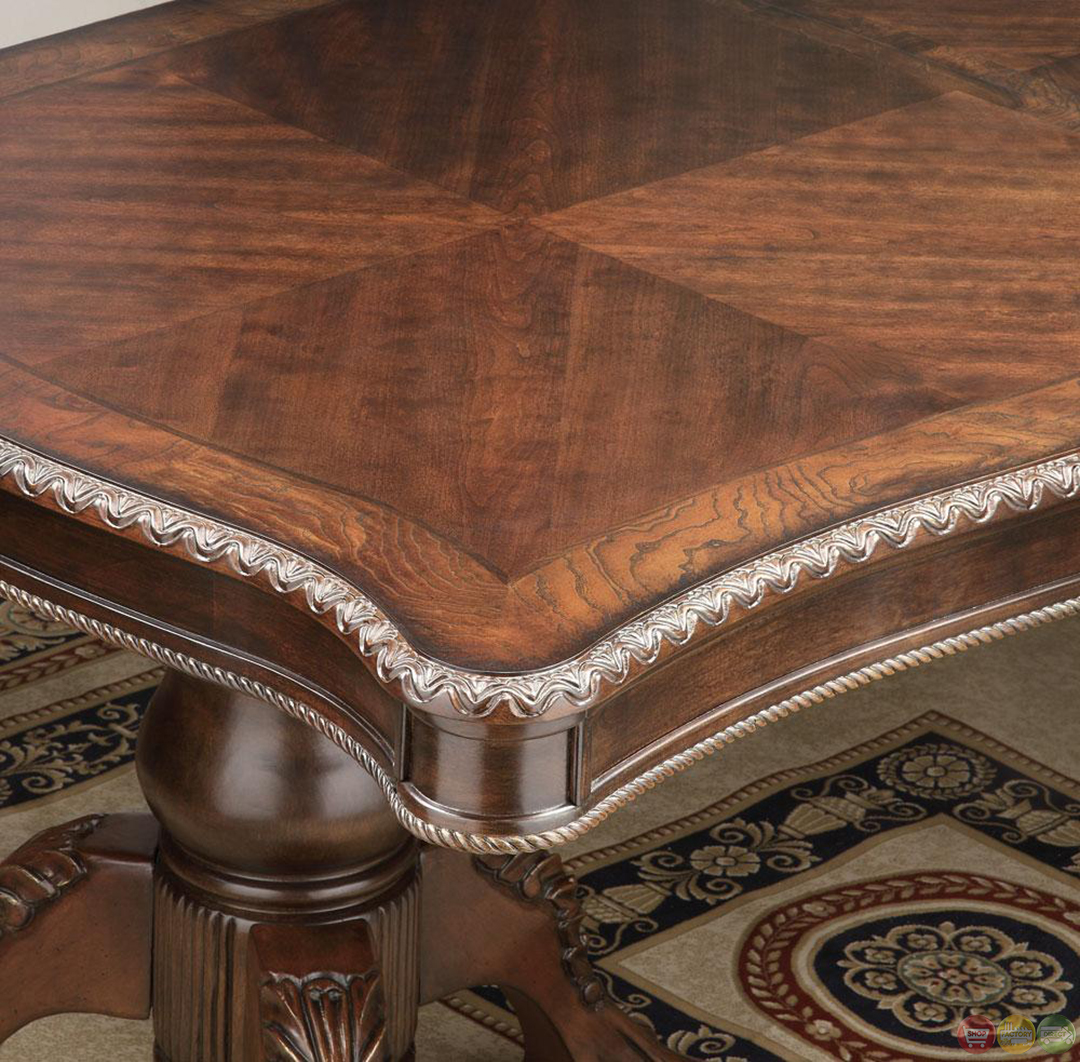 Furniture Of America Mallory Formal Cherry Red: Andrea Cherry Finish Formal Dining Room Table Set