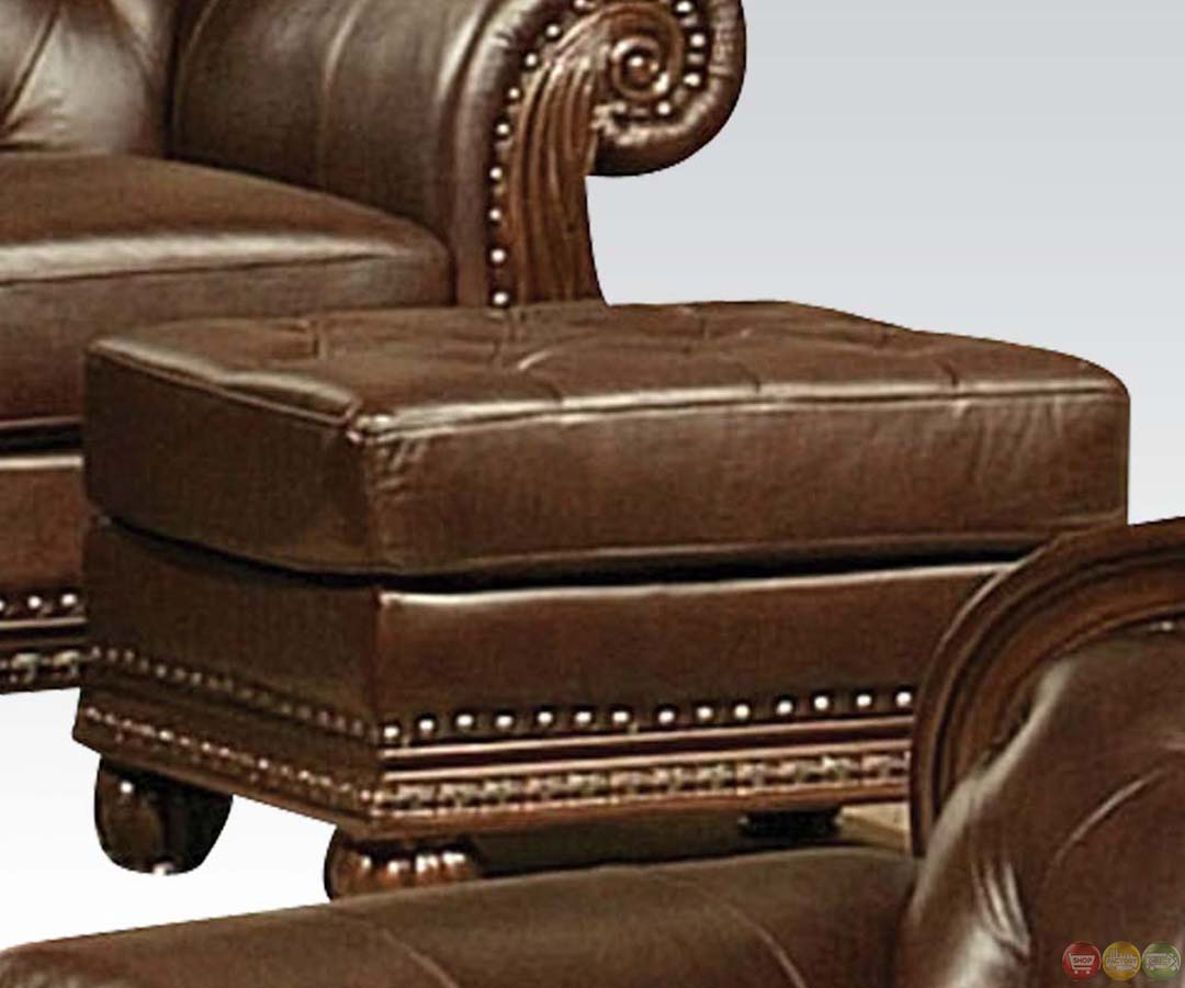 Anondale Brown Button Tuft Leather Upholstery Sofa Set  : anondale brown button tuft leather upholstery sofa set 40 from shopfactorydirect.com size 1080 x 900 jpeg 90kB