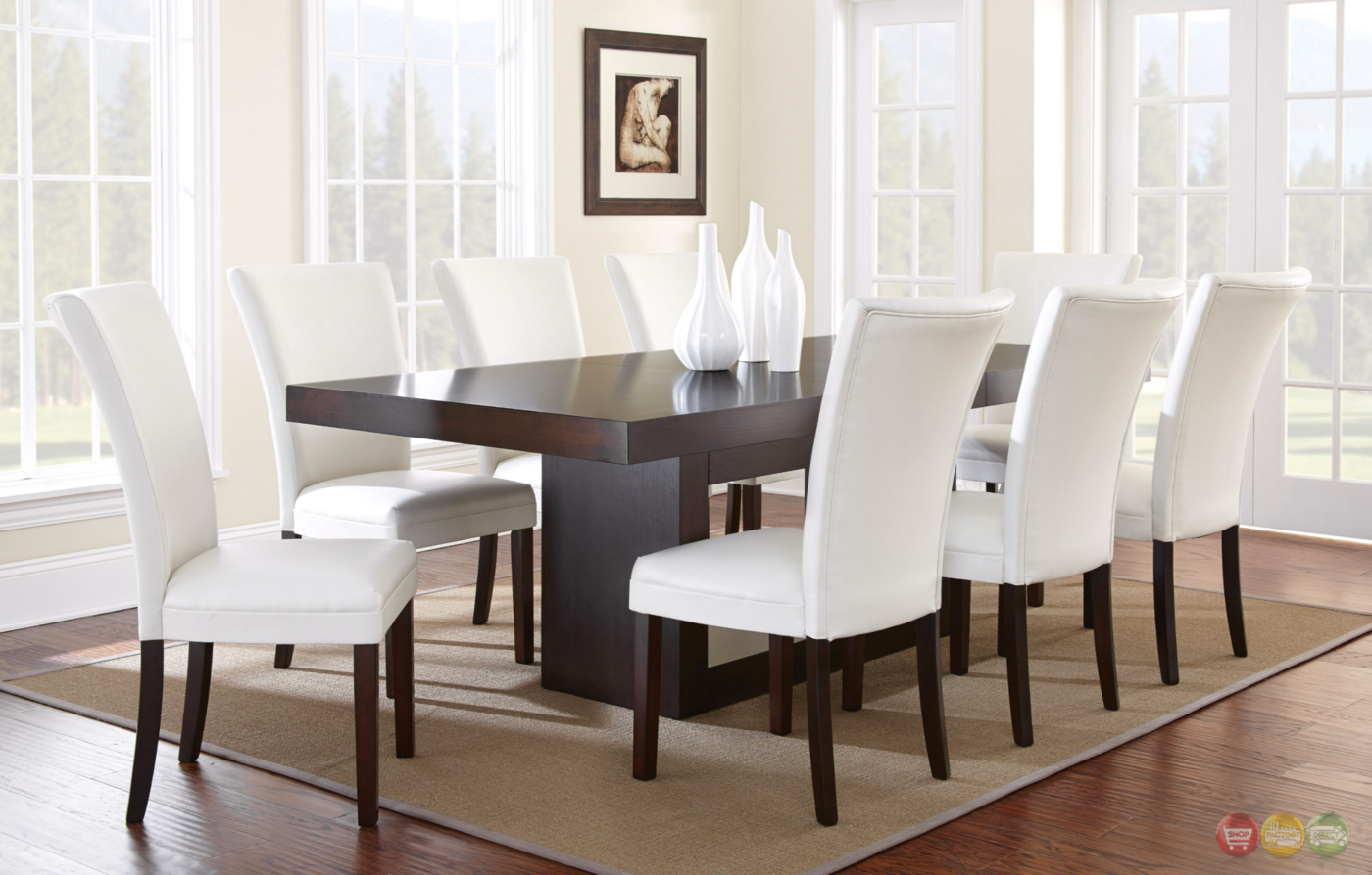 highest rated modern cherry wood dining table