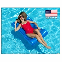 Aqua Hammock Pool Float Lounge - Blue - NT107