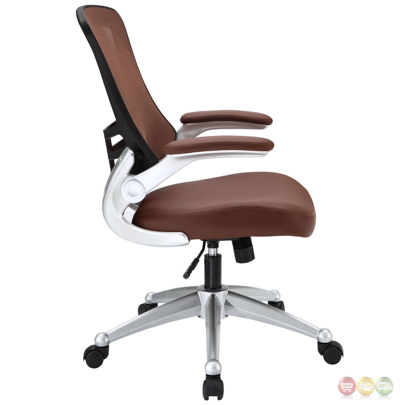 Modern Ergonomic Mesh Back Office Chair W Lumbar Support Tan