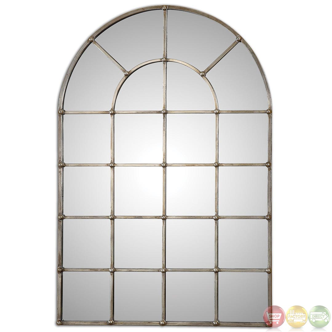 Barwell Arch Contemporary Oxidized Plated Silver Arch