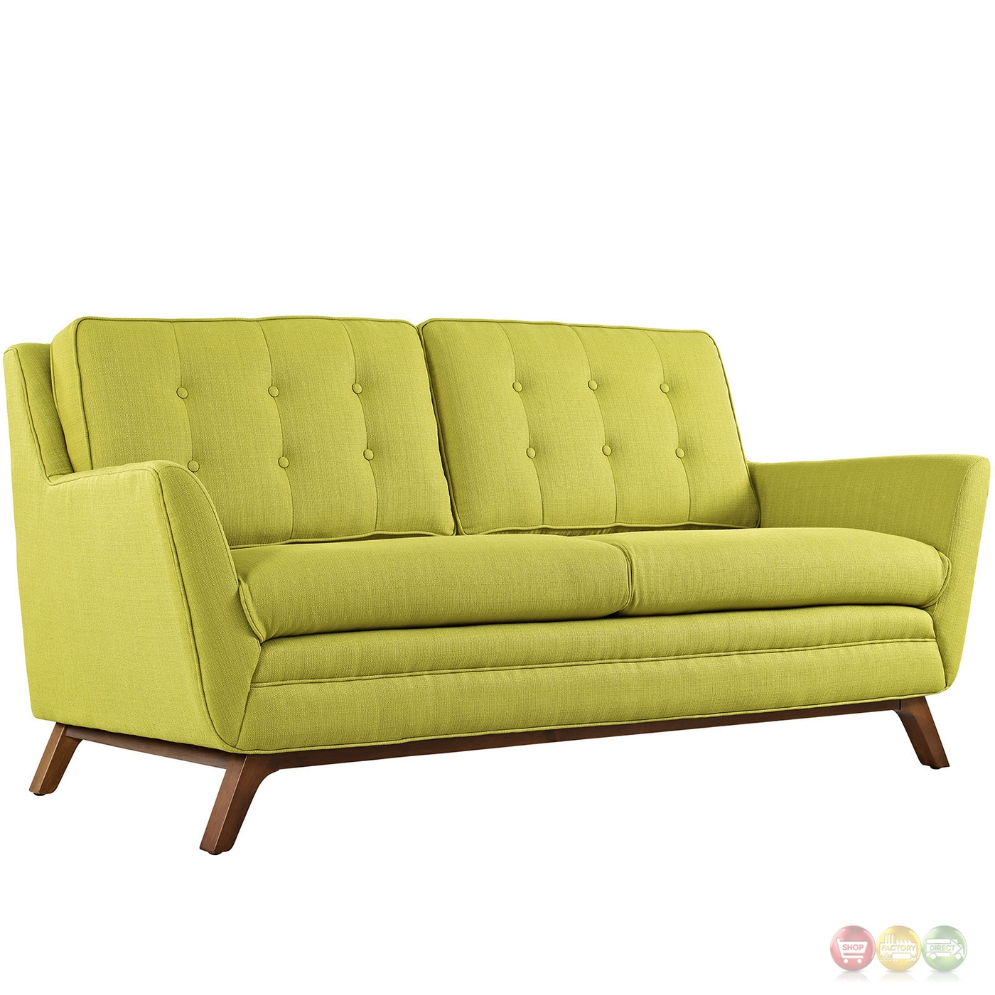 Beguile 2pc Upholstered Button tufted Sofa amp Loveseat Set  : beguile 2pc upholstered button tufted sofa loveseat set wheatgrass 5 from shopfactorydirect.com size 1400 x 1400 jpeg 586kB
