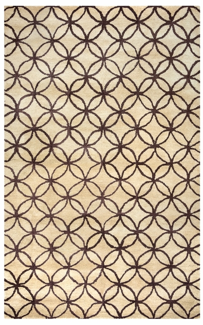Rizzy Rugs Beige & Brown Transitional Hand Tufted Area Rug Opus OP8114