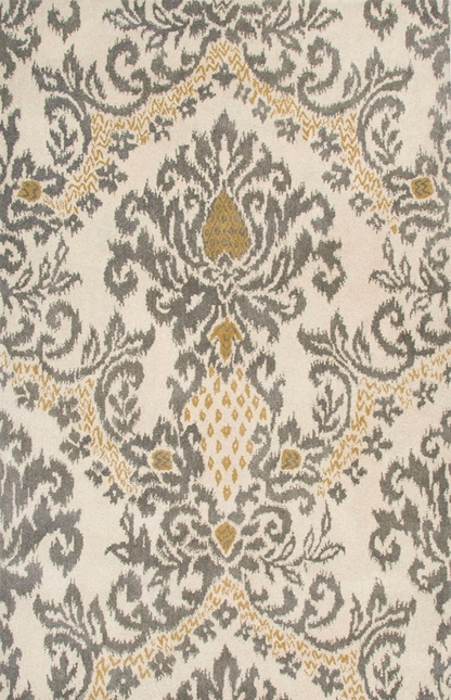 Rizzy Rugs Beige Traditional Hand Tufted Area Rug Destiny DT5070