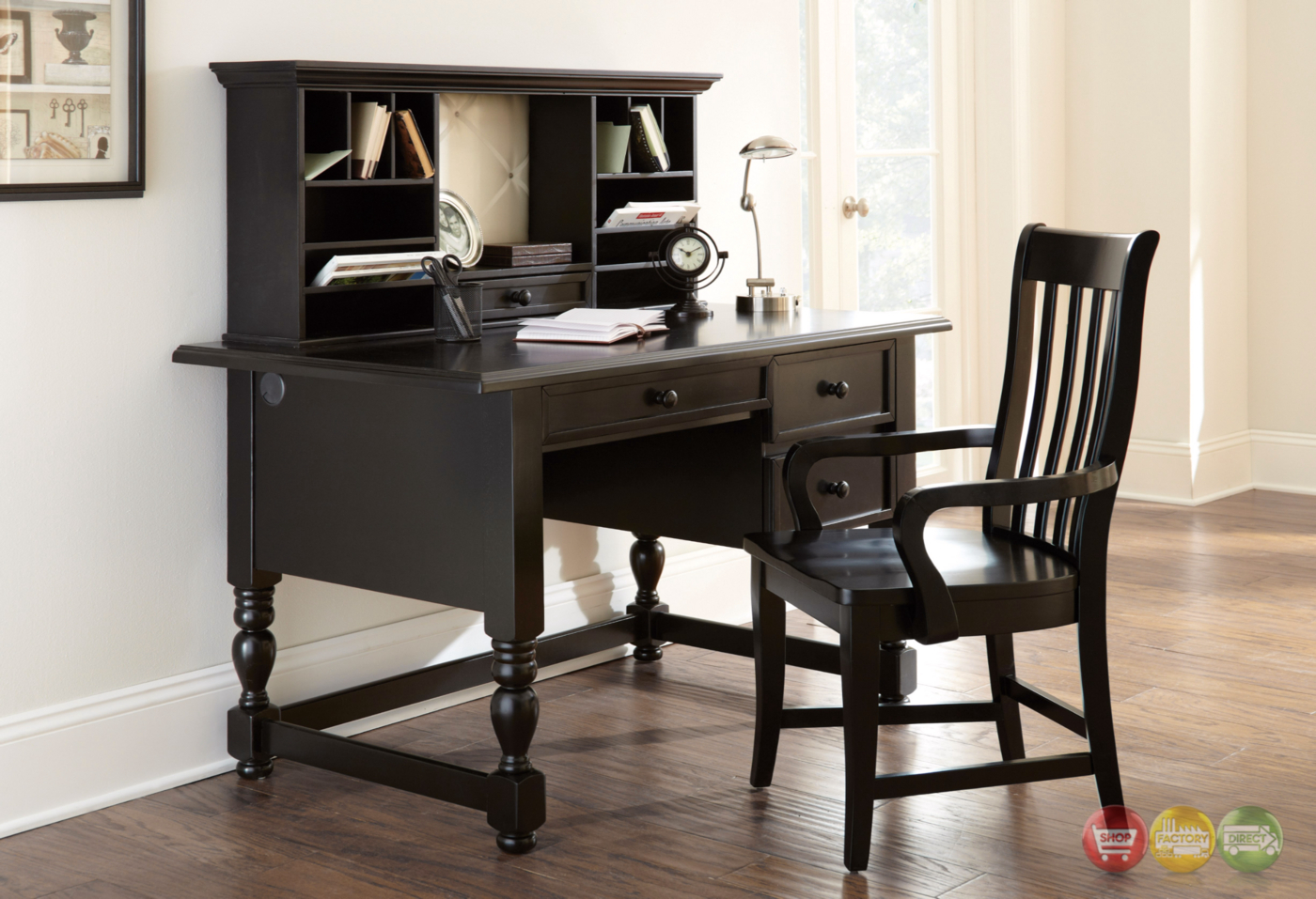 cottage writing desk The desk from alaterre creates a practical area for study or simple home office the desk features one drawer under the work surface the drawer can be used.