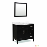 Belmont Decor Ashland Single Sink Bathroom Vanity ST10D4-36