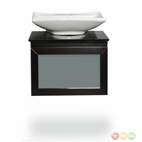 Belmont Decor Newport Single Vessel Sink Bathroom Vanity WM3-36