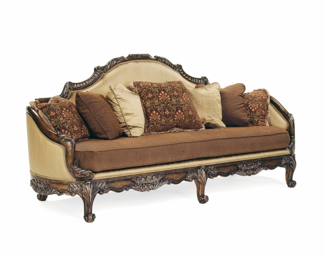Brianza Hand-Carved Wood Antique Style Formal Living Room Set