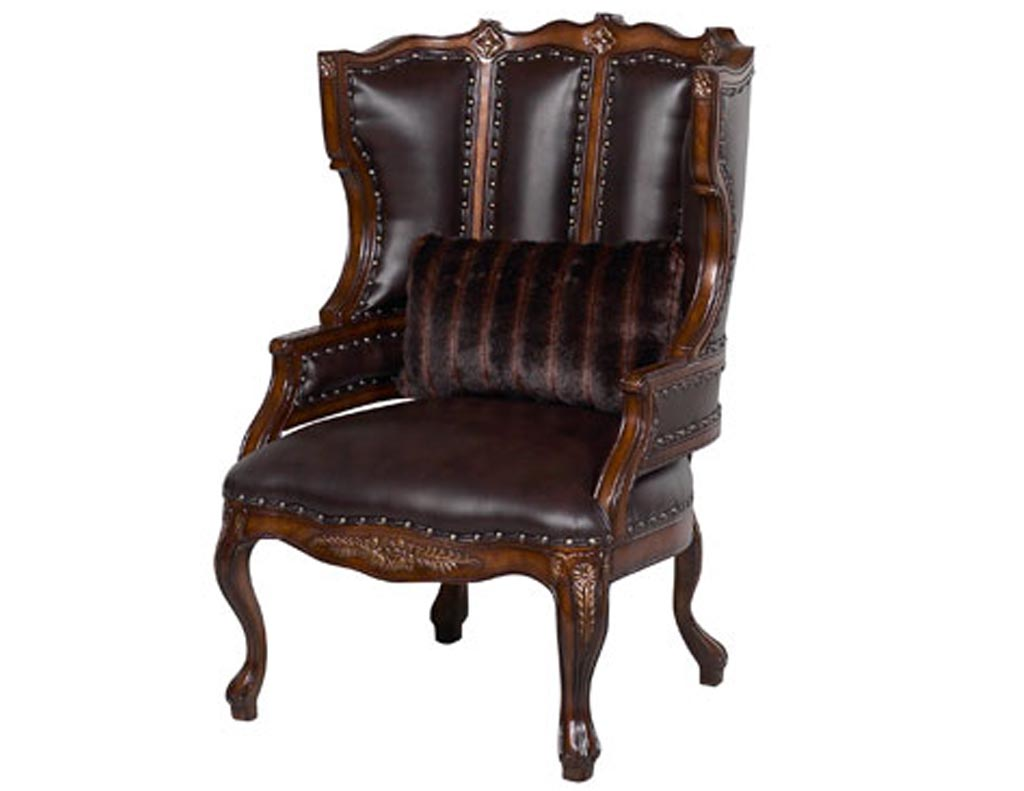 Benetti s Italia Cavalli Wing Back Chair
