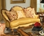 Nicolina Goldenrod Traditional Formal Antique Style Sofa Set