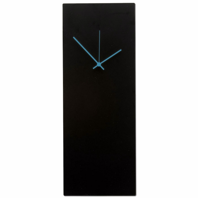 Blackout Blue Large Minimalist Design Modern Wall Clock L0183-L