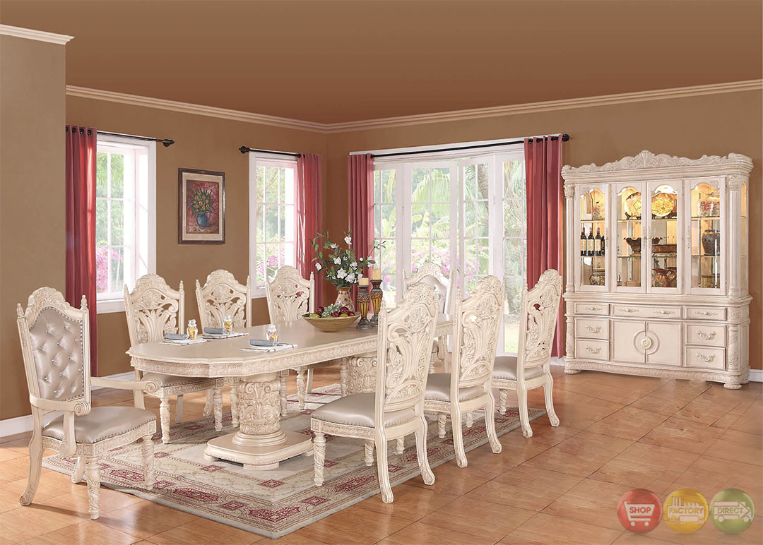 blair light wood formal dining set with optional buffet and hutch
