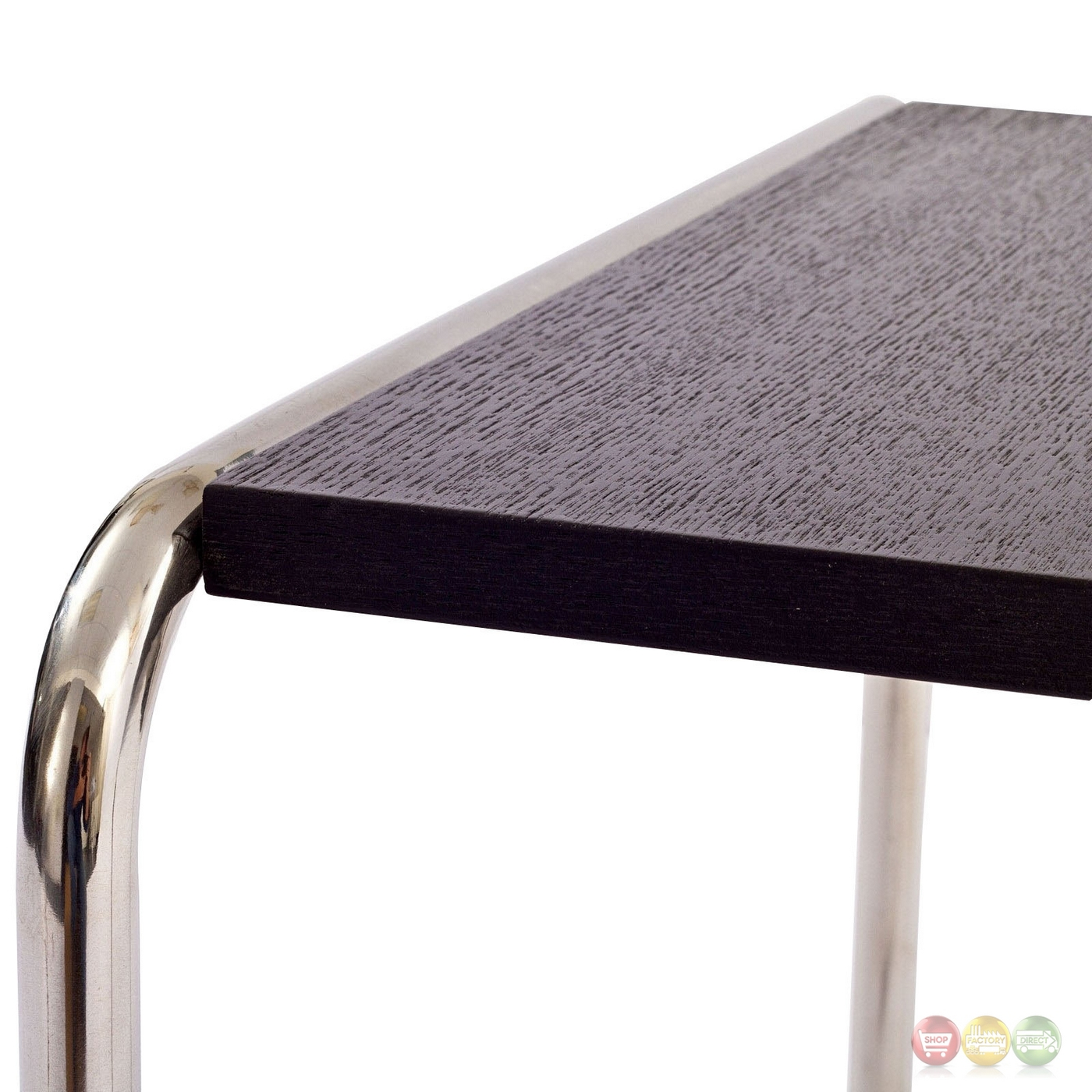 Blox Contemporary Wood Top Nesting Coffee Table With