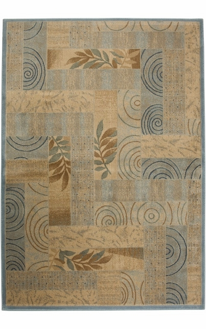 Rizzy Rugs Blue Transitional Power Loomed Area Rug Bellevue BV3203
