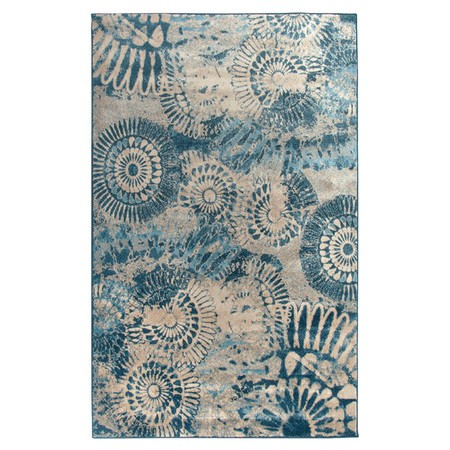 Rizzy Rugs Blue Transitional Power Loomed Area Rug Bellevue BV3423