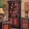 Two Tone Traditional Home Office Bookcase Classic Design 800693