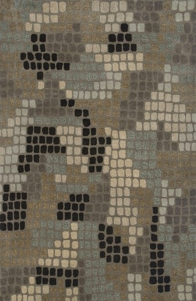 Rizzy Rugs Brown Contemporary Hand Tufted Area Rug Pandora PR2059