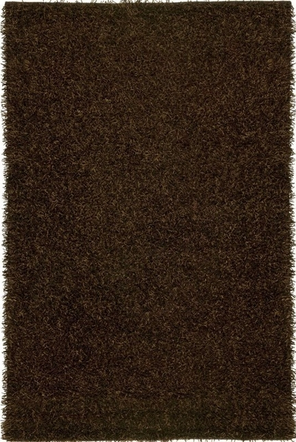 Rizzy Rugs Brown Shag Hand Tufted Area Rug Kempton KM2317