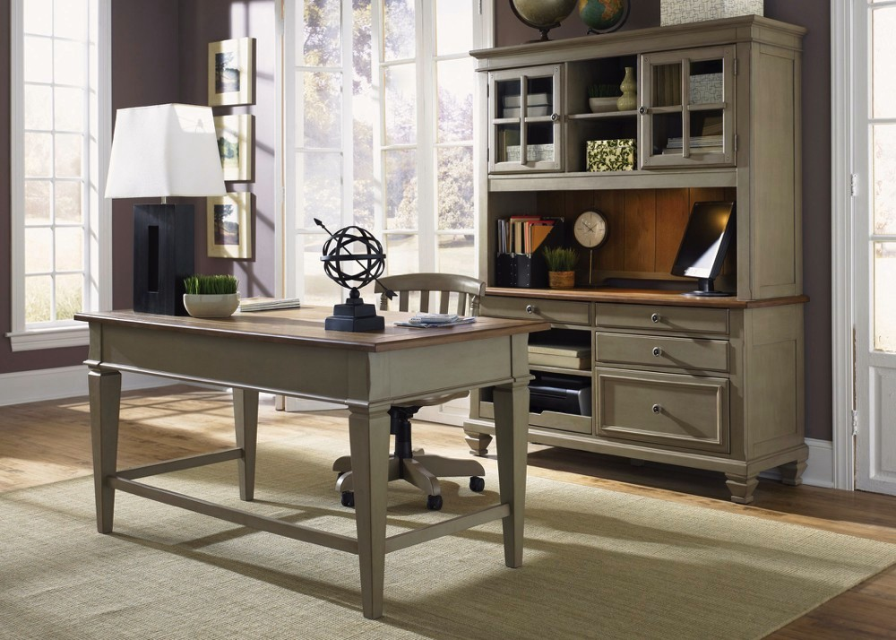 Executive Office Furniture: Bungalow Executive Home Office Furniture Desk Set