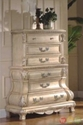 Caledonian Victorian Inspired Canopy Bedroom Set in Antique White