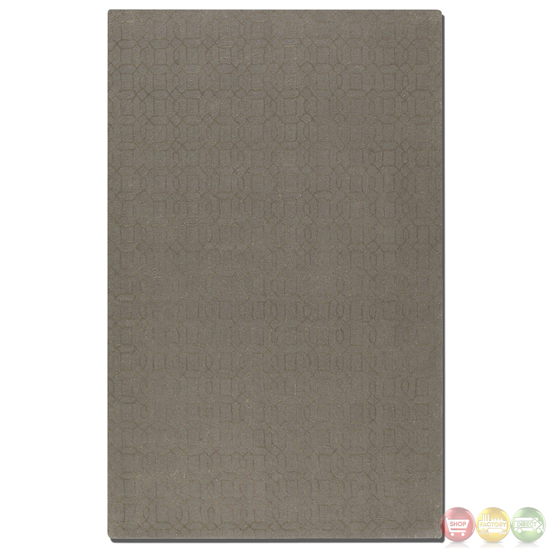 Braylin Tufted Wool Rug Gray 28 Images Surya