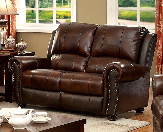 Steve Silver Company Leather Sectional