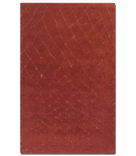 Casablanca Hand Tufted Tuscan Red Wool Rug 73003