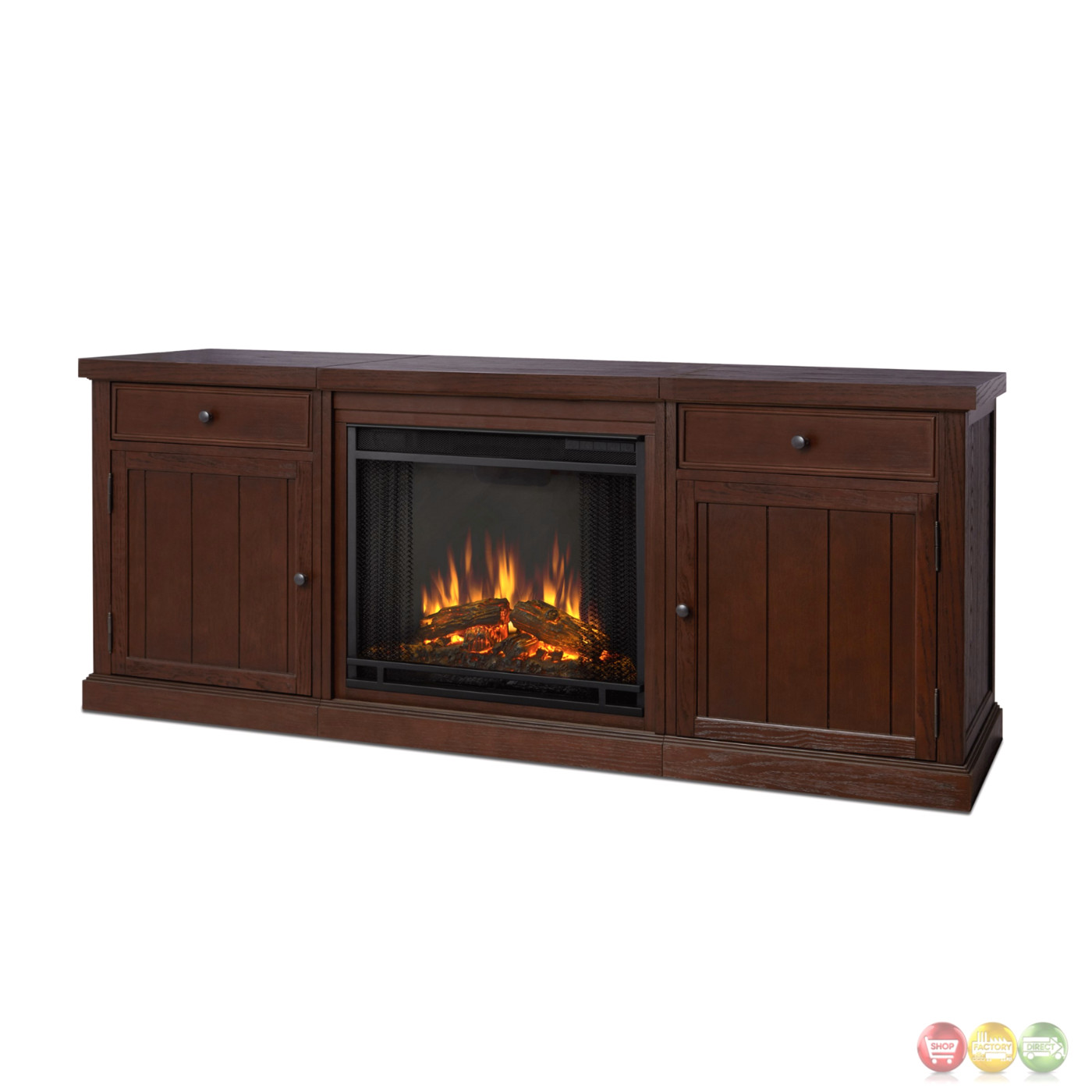 Cassidy Entertainment Center Electric Fireplace In ...