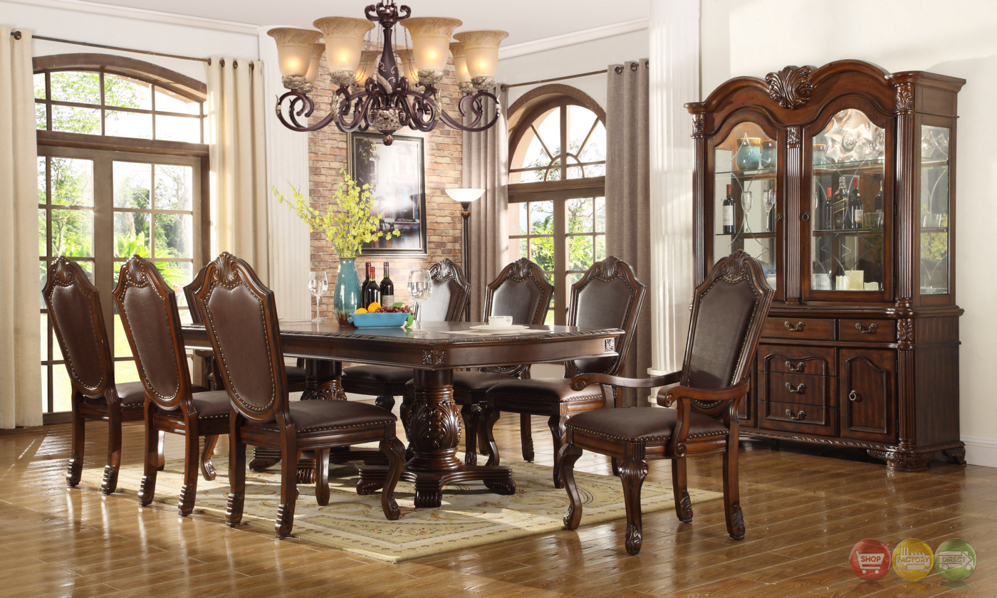 Chateau Traditional Formal Dining Room Furniture SetFree Shipping ...