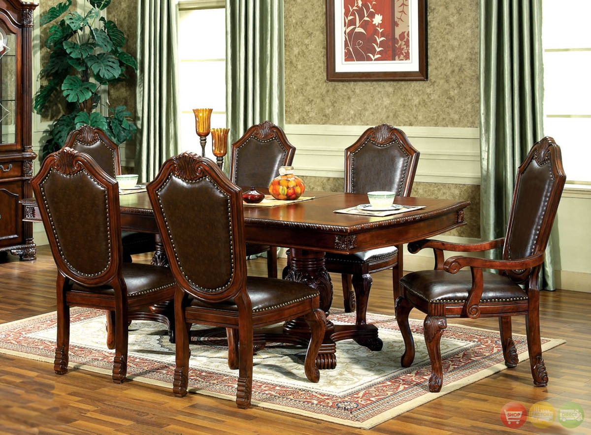 Chateau Traditional Formal Dining Room Furniture SetFree Shipping