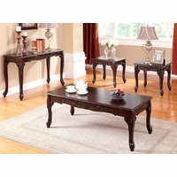 Cheshire Traditional Cherry Accent Tables with French Style Legs