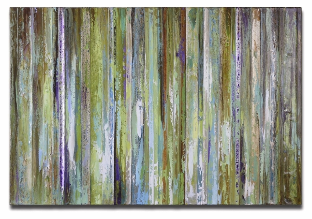 Colorful Expressions Frameless Hand Painted Art 34212
