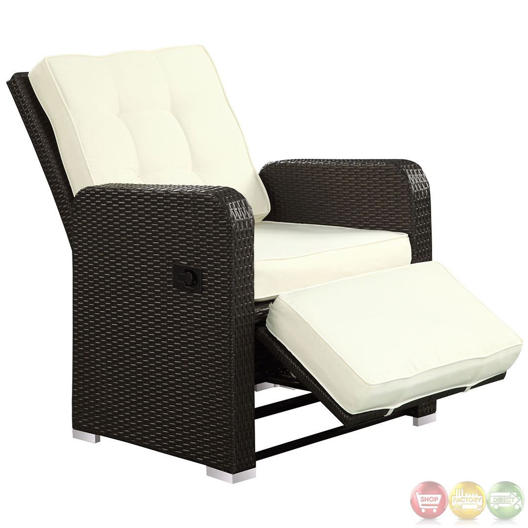 mence Modern Outdoor Patio Armchair Recliner