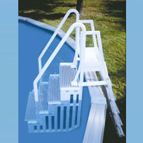Confer Entry Ladder System Above Ground Pool Steps Con