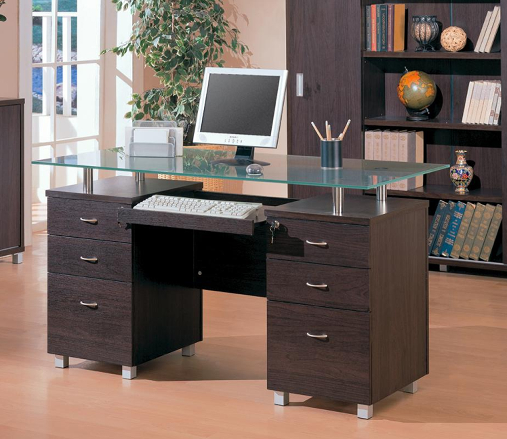 desks credenzas and hutch from coaster furniture