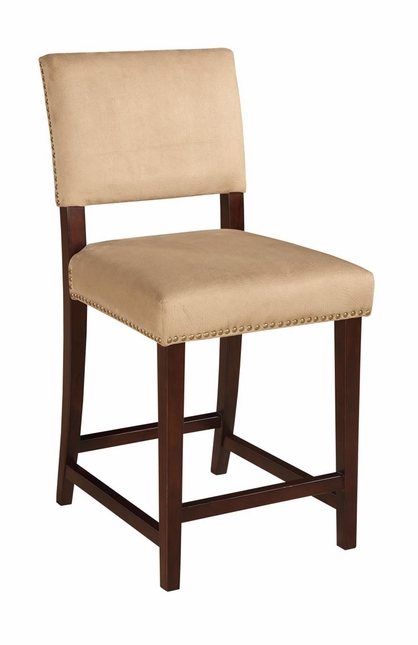 Corey Fabric Upholstered Counter Height Bar Stool