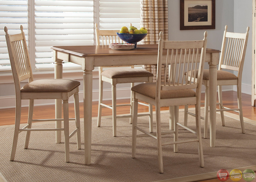 cottage cove counter height casual dining room set