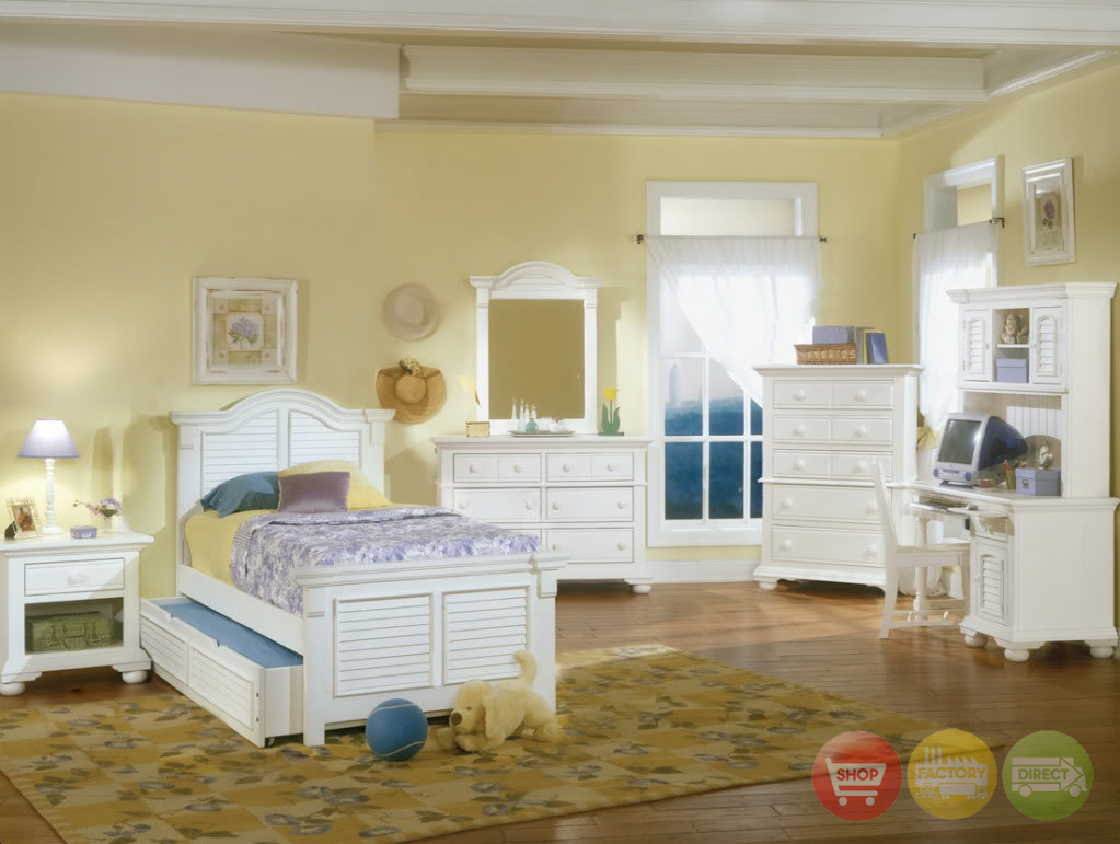 Http Shopfactorydirect Com Cottage Traditional White Twin Youth Bedroom Set Html