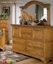 Cottage Traditions Distressed Pine Bedroom Furniture Set