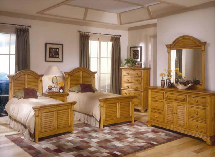 Cottage Traditions Pine Bedroom Set American Woodcrafters
