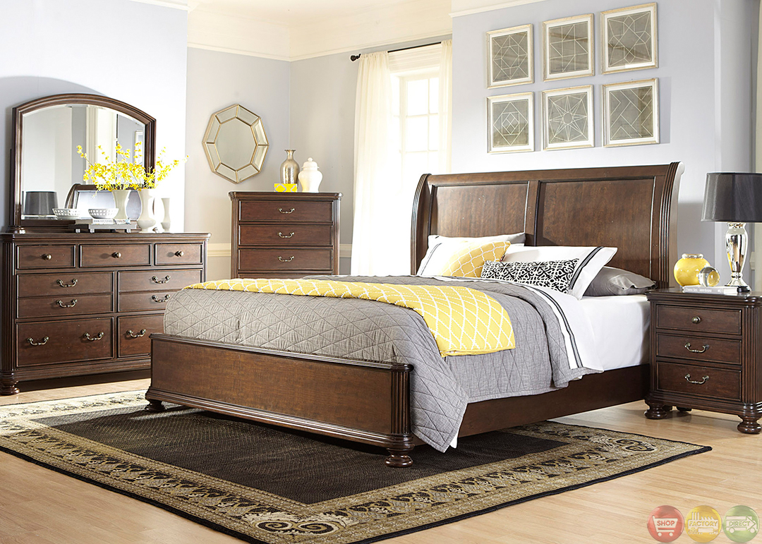 Very Best Cognac Finish Sleigh Bed 1080 x 771 · 772 kB · jpeg