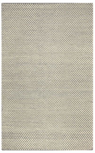 Rizzy Rugs Cream & Gray Transitional Hand Woven Dhurrie Area Rug Twist TW3101