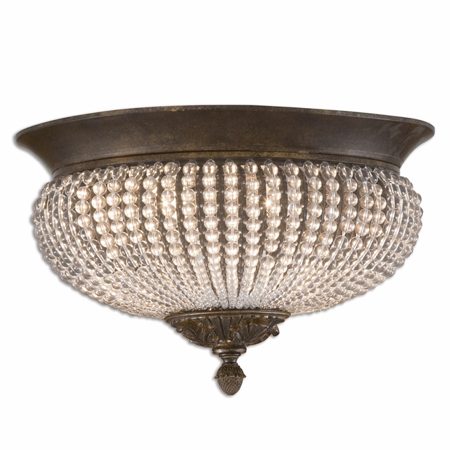 Cristal De Lisbon Contemporary Flush Mount 22222