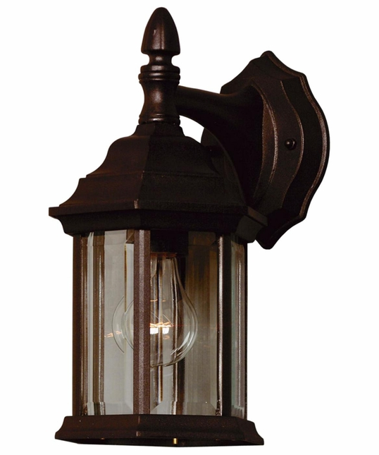 Custom Fit Contemporary Sealed Design Wall Lantern