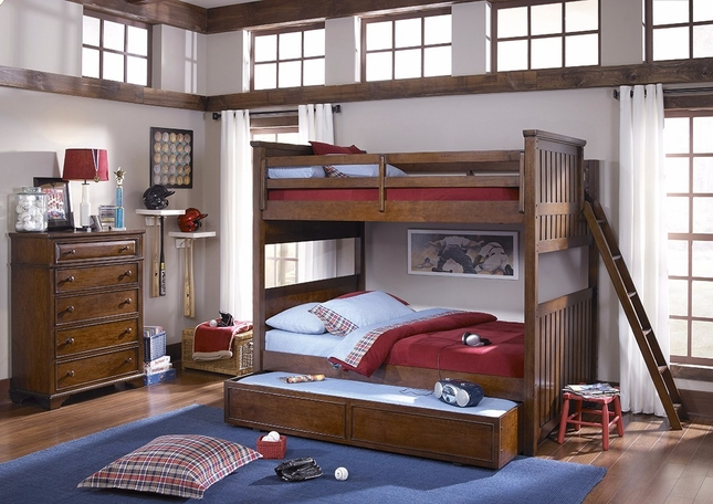 Dawsons Ridge Country Full over Full Youth Bunk Bed
