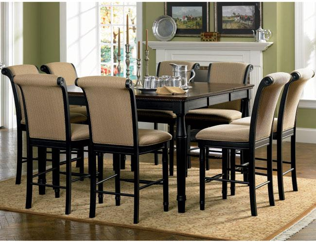 dining set counter height cappuccino 101828 101829 coaster
