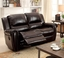 Dorset Traditional Brown Dual Reclining Sofa & Loveseat In Top Grain Leather