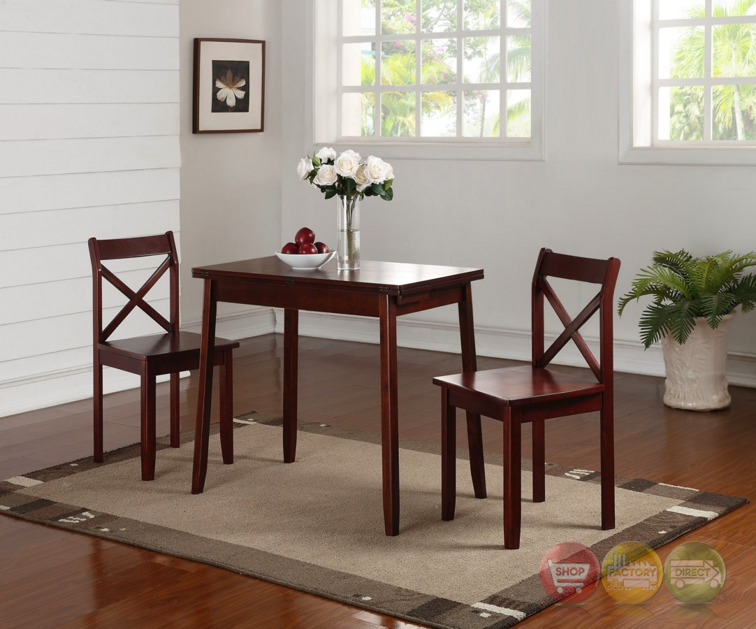 Expandable dining room table sets